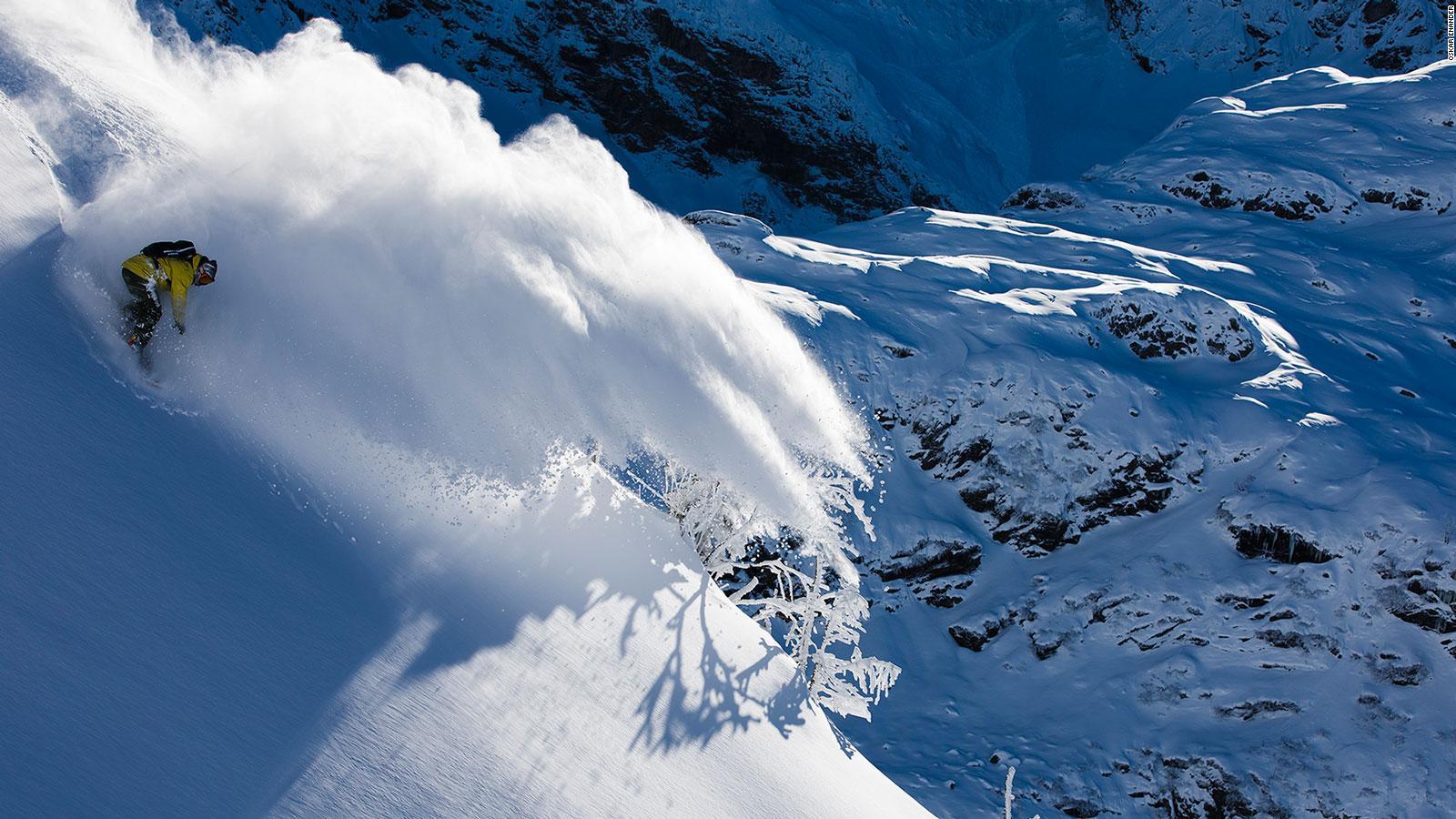 Meet Ski Photographers Oskar Enander And Mattias Fredriksson Cnn Travel