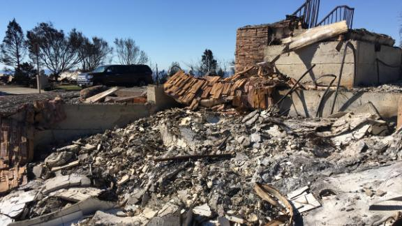 Dr. Antonio Wong lost his Santa Rosa home during an October wildfire. It was the first of two houses he would lose this year to California wildfires.