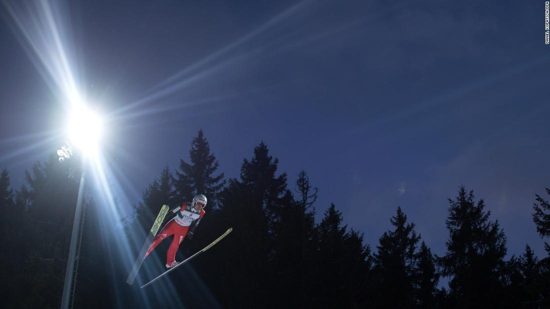 "Swiss ski jumper Simon Ammann competes at the World Cup event in Titisee-Neustadt, Germany, on Saturday, December 9. <a href=""http://www.cnn.com/2017/12/04/sport/gallery/what-a-shot-sports-1204/index.html"" target=""_blank"">See 33 amazing sports photos from last week</a>"