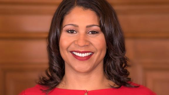 London Breed was born and raised in San Francisco.