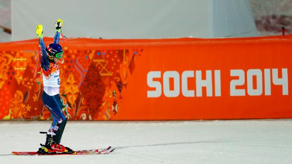 Mikaela Shiffrin is Olympic and World slalom champion