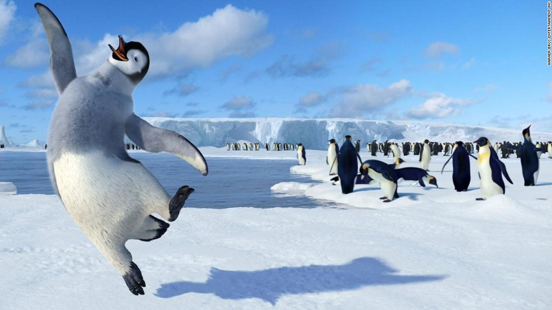 "Penguins have long held a place of honor in cartoons as adorable friends or comic relief, but the waddling black and white birds weren't always so cute in real life as they were in films like ""Happy Feet."""