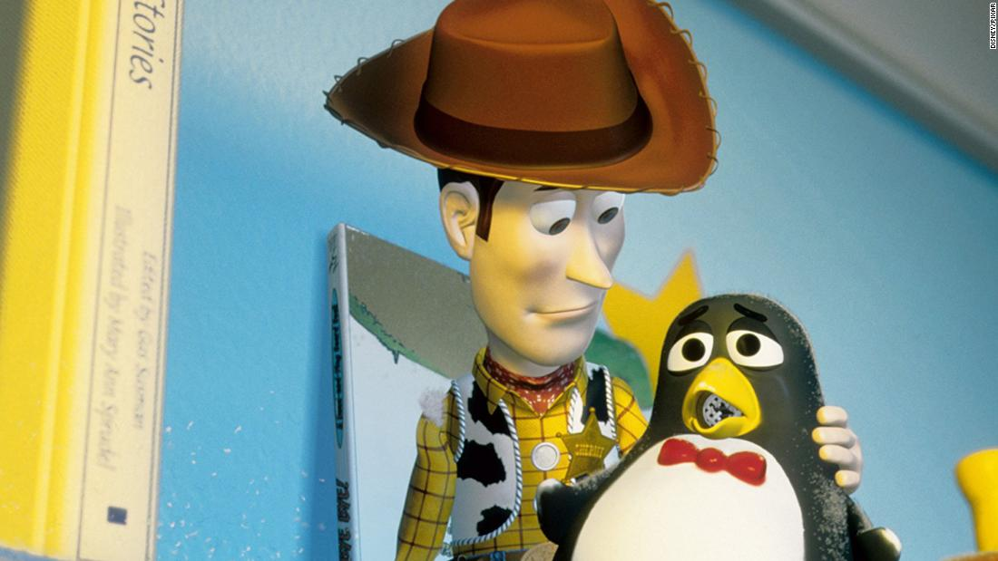 "Wheezy, the asthmatic toy penguin, appears in ""Toy Story 2."" He'd been a favorite toy until his squeaker broke. In real penguin lungs, air flow never stops. Unlike the human breathing system that inhales and exhales, penguins have sacs that <a href=""https://emperorpenguinsinside.weebly.com/organ-systems.html"" target=""_blank"">continuously take in air.</a> They can't breathe underwater, but their muscle tissue can store additional oxygen, and they can hold their breath <a href=""https://sciencing.com/penguins-breathe-underwater-4566655.html"" target=""_blank"">up to 20 minutes</a>."