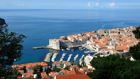 """Croatia, Dubrovnik: The jewel in Croatia's crown is romantic Dubrovnik, a UNESCO heritage site, with its charming Old Town. It's also must visit for sailing fans of """"Game of Thrones,"""" much of which was filmed here."""