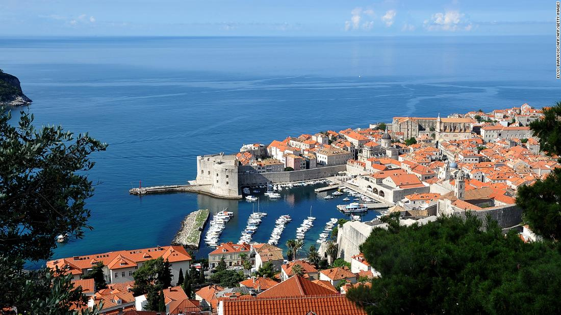 "<strong>Dubrovnik, Croatia: </strong>The beautiful medieval city of Dubrovnik makes an appearance in ""The Last Jedi"" as Canto Bight, a ""Star Wars"" version of Las Vegas."