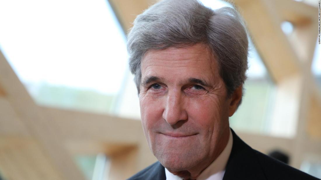 John Kerry to Trump: 'Resign'