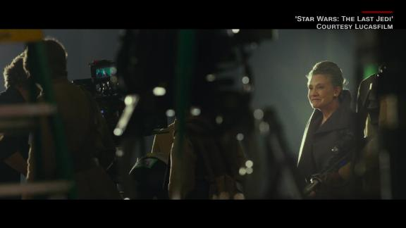Carrie Fisher and Mark Hamill in 'The Last Jedi' - CNN Movie Pass_00010406.jpg