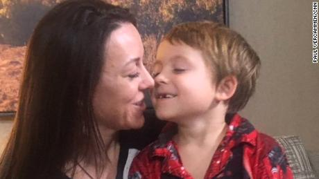 Mom, son, scramble 5 times to stay out of California wildfire's path