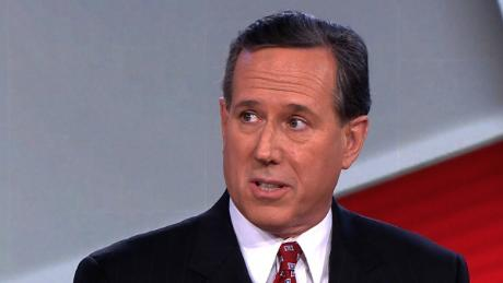 Santorum on Trump: He's not a complex man