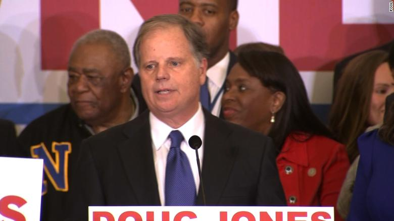 Doug Jones declares victory in AL (full speech)