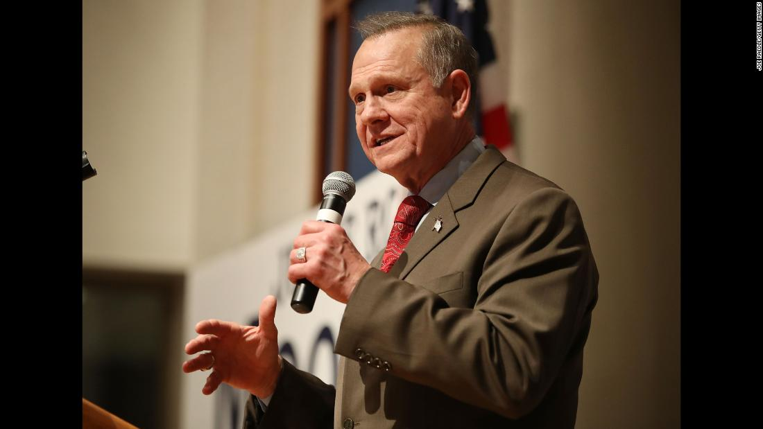 Roy Moore to announce decision on US Senate run amid GOP resistance