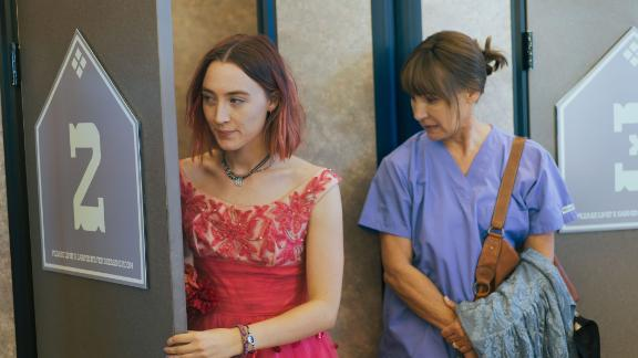 """Lady Bird"": Saoirse Ronan and Laurie Metcalf star as a daughter and mother with a complex relationship in this critically acclaimed film. (Amazon Prime)"