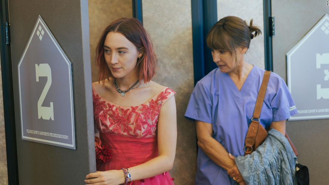 The coming-of-age story received five nominations, including Saoirse Ronan for best leading actress and Laurie Metcalf for best supporting actress. Greta Gerwig, who wrote and directed the film, also received two nominations.