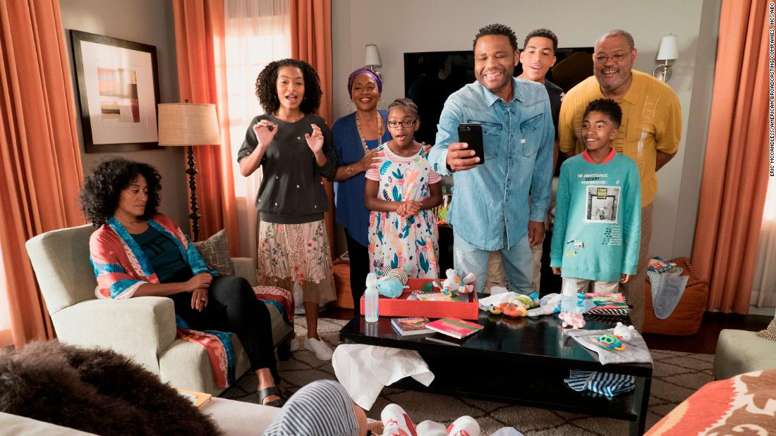 'Black-ish' scored two nominations -- one for the cast and Anthony Anderson got a nod for outstanding male actor in a comedy series.
