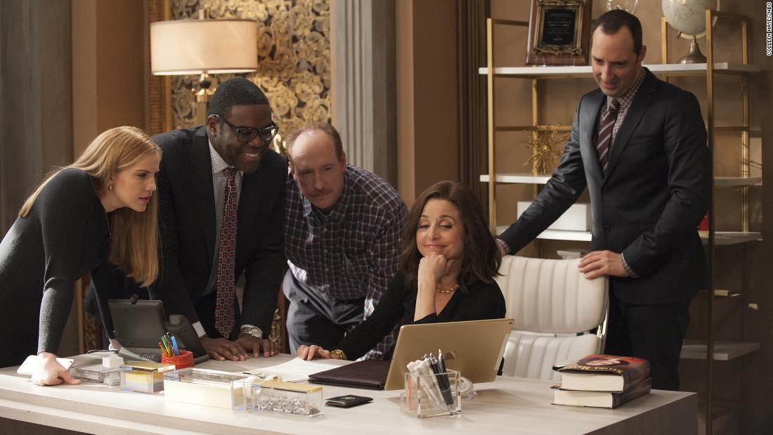 "Outstanding Performance by an Ensemble in a Comedy Series: The cast of ""Veep"""