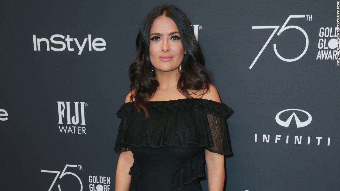 salma hayek bugil videos