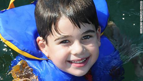Noah Pozner loved playing with his twin sister.