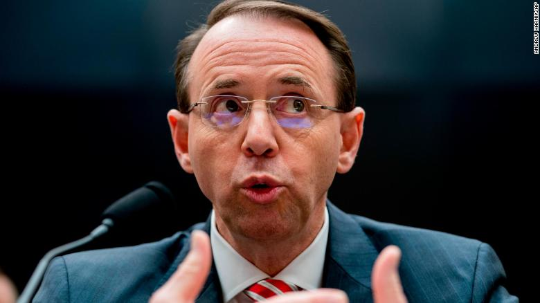 Rosenstein: No good cause to fire Mueller