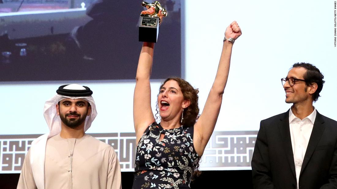 """The Last Jedi's"" gala screening closed out the festival, but beforehand the main prizes were doled out, with director Annemarie Jacir winning the Muhr best fiction feature award for ""Wajib."""