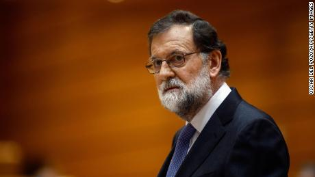 Spain's Prime Minister Mariano Rajoy has faced critcism of his handling of the Catalonia crisis.
