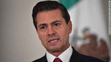 Mexico's President Enrique Pena Nieto has been hit by falling popularity ratings.