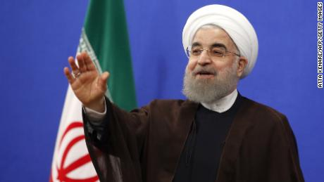 Iranian President Hassan Rouhani enjoyed a landslide victory in the country's election.