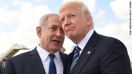 Israeli Prime Minister Benjamin Netanyahu received a big boost when US President Donald Trump said he would recognize Jerusalem as Israel's capital.