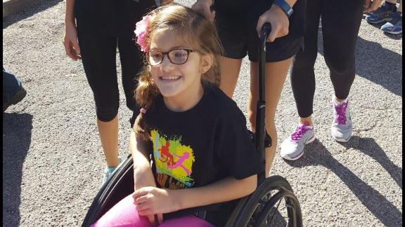 Avery has attended the Arbor School in Houston since she was 2½ years old. The year-round school provides targeted programs for children with developmental disabilities from birth to age 12.