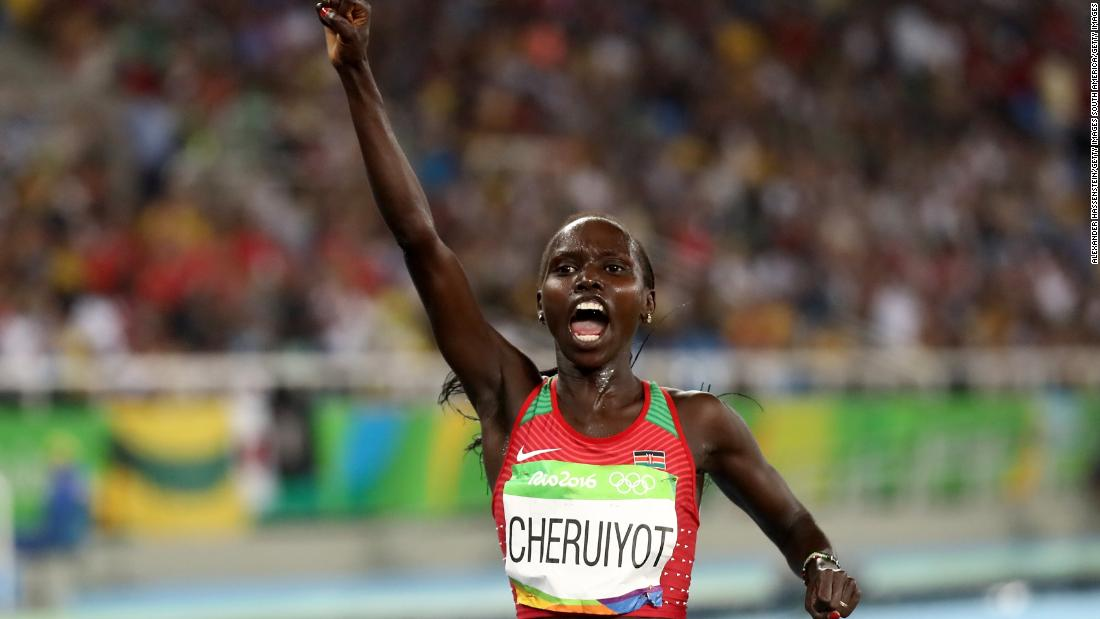 The 34-year-old Cheruiyot has won Olympic medals of every color and holds the all-time commonwealth 5,000m record having run the distance in 14:20.89. She also competes in the 10,000m.