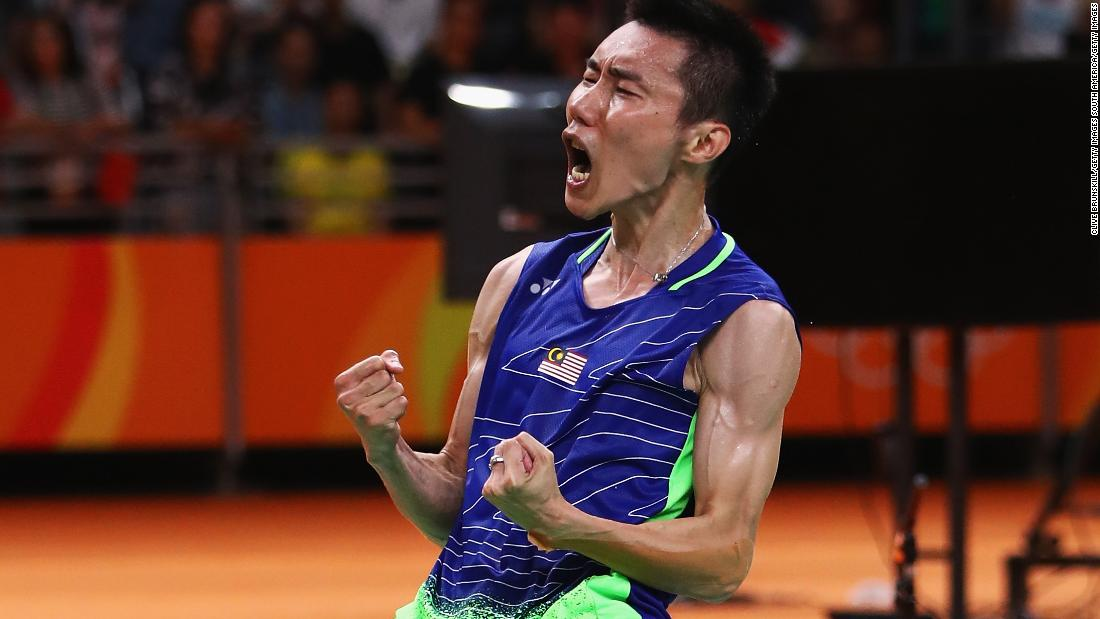 The most successful Malaysian Olympian in history, Lee was the world No. 1 badminton player for 199 consecutive weeks. The 35-year-old has taken home silver at the past three Olympic Games.