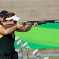 catherine skinner australia trap shooting