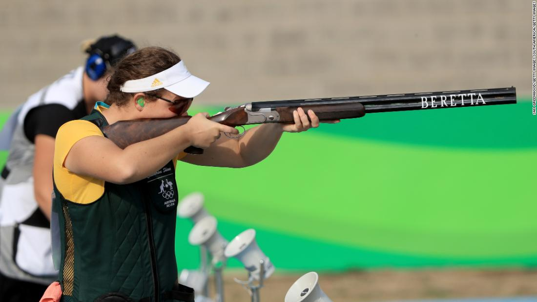 Skinner became the first Australian to win Olympic gold in a shooting event for 12 years when she triumphed at Rio 2016 in the trap.