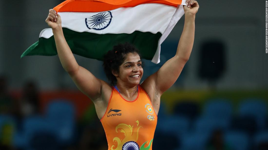 "The first woman from India to win a medal in Olympic wrestling, Malik took bronze in the -58kg freestyle in Rio, building on the silver she won at the 2014 Glasgow Commonwealth Games<strong>. <a href=""https://www.facebook.com/cnnsport/"" target=""_blank""><strong></strong>Who are you looking forward to seeing at the Commonwealth Games?</strong> <em>Have your say on CNN Sport's Facebook page</em></a>"