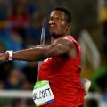 Keshorn Walcott of Trinidad and Tobago javelin
