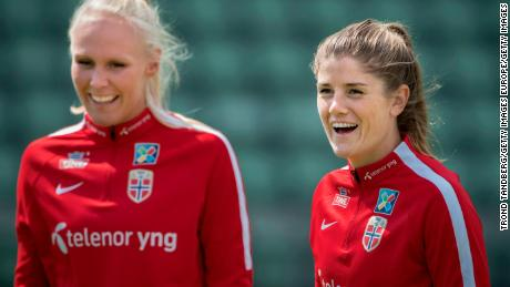 Norway's footballers sign historic equal pay agreement