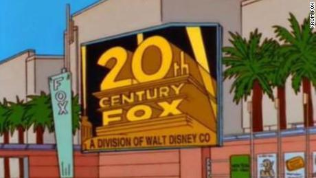 A Simpsons episode that first aired on November 8, 1998, predicted that Disney would acquire Fox.