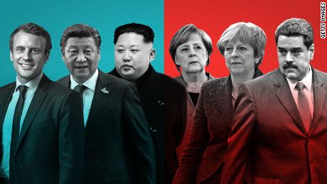 How world leaders fared in a turbulent year