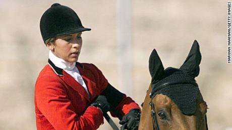 Jordan's Princess is a former Olympic show jumper.