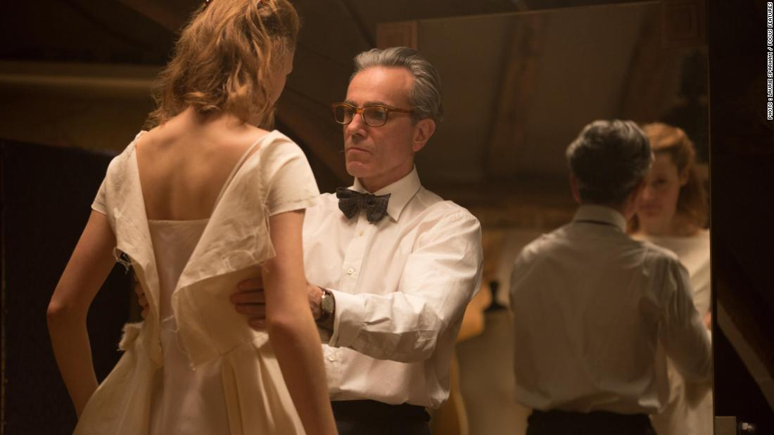 """Phantom Thread,"" which chronicles a London dressmaker's relationship with his muse, received six nominations. This is set to be the final film role for Daniel Day-Lewis, who was nominated for best leading actor. The actor previously announced his retirement."