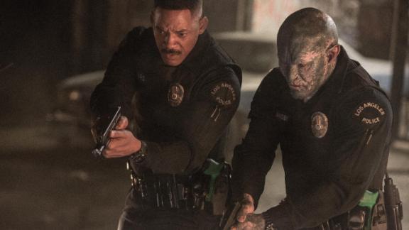 Will Smith, Joel Edgerton in 'Bright'
