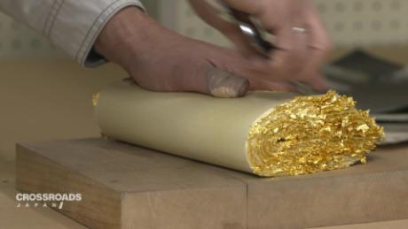 How Gold Leaf Is Made In An