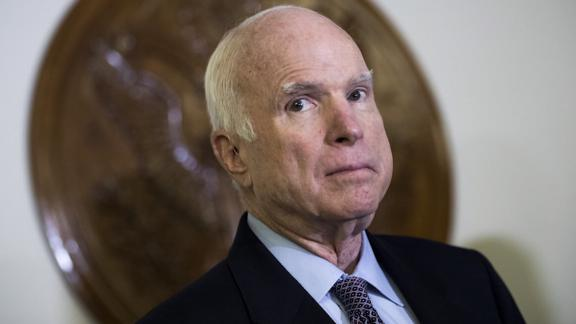 US Senator John McCain will miss the vote on the tax overhaul bill in the US Senate