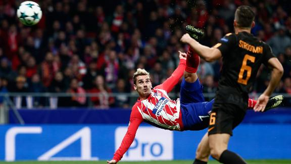 Griezmann has cored five goals for Atletico Madrid this season