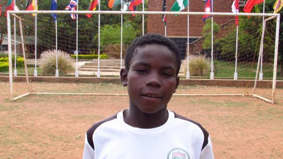 "Ravanelli ""Vava"" Badere, a Chigoli academy player originally from the Democratic Republic of Congo."
