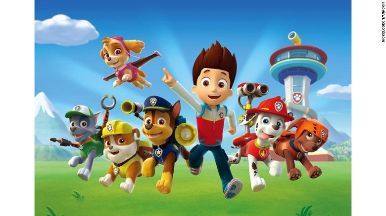 why kids love fascist cartoons like paw patrol and thomas cnn