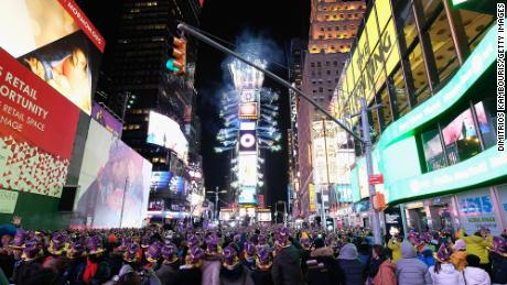 New Year's Eve will be almost 40 degrees colder than usual