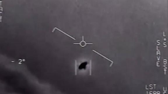 The US Department of Defense has released video showing reports of a UFO flying off the coast of San Diego in 2004