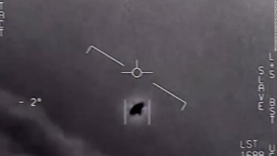 Video shows Navy jet's encounter with a UFO, group says