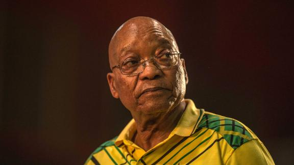 South Africa's president Jacob Zuma speaks during the 54th ANC (African National Congress) national conference on December 16, 2017 in Johannesburg.