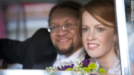 Rebbeca Hare and Patrick Cokley were married at St. Luke's Episcopal Church, Columbia.